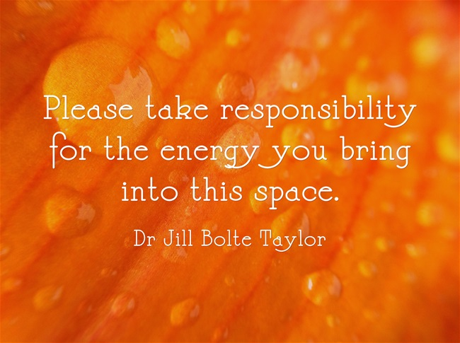 Please take Taking Responsibility For Energy