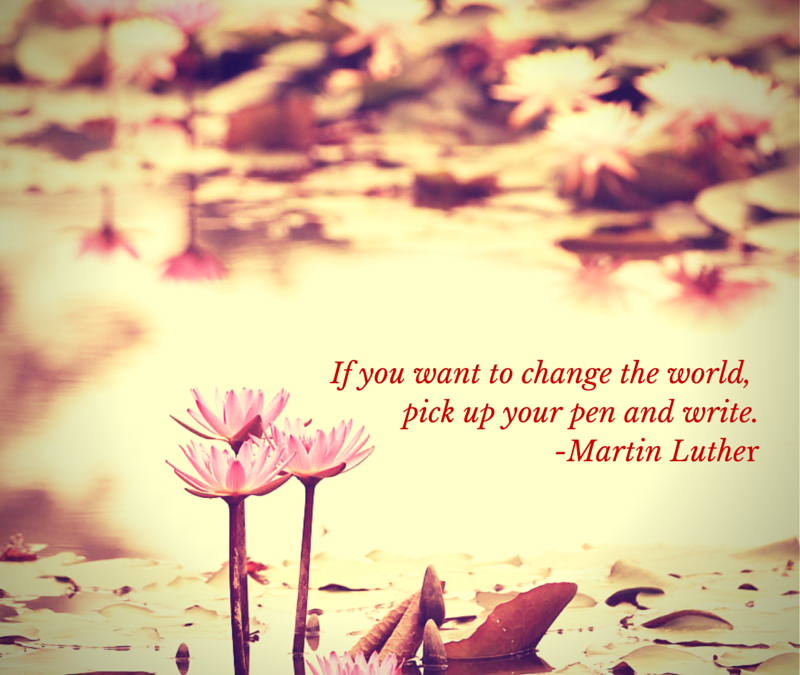 Pick Up Your Pen and Write #womenslives #fridayreflections