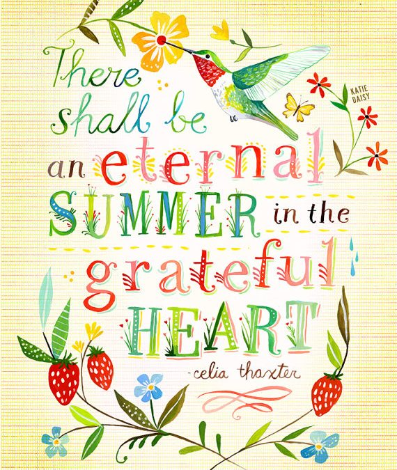 Eternal Summer In The Grateful Heart