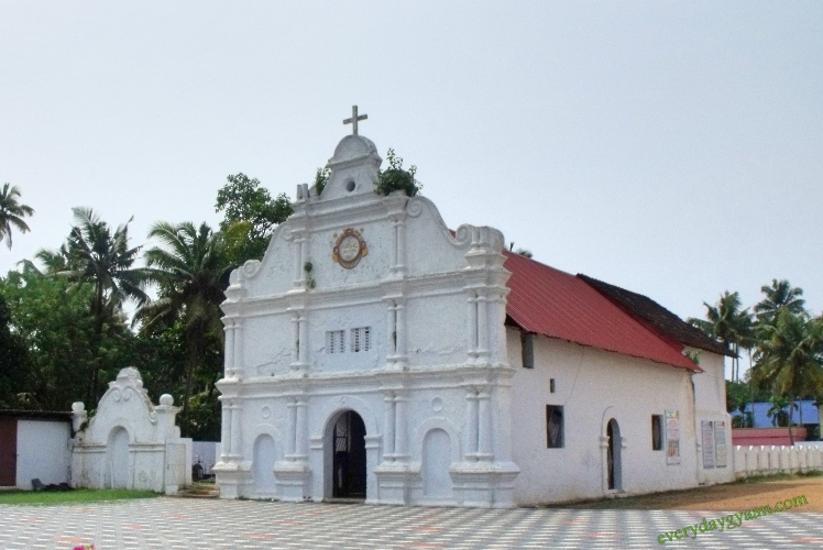 old church, cherai