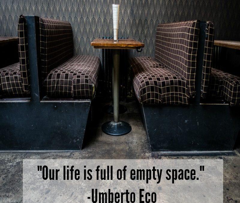 Trust The Empty Spaces