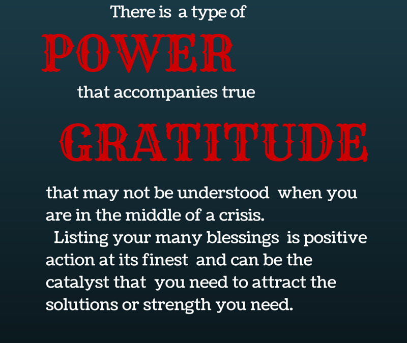 The Power Of Gratitude #GratitudeCircle