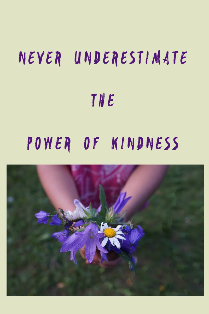 the power of kindness Large acts of kindness like big charity donations are great, but small, unexpected  acts of niceness, respect and generosity can also touch.