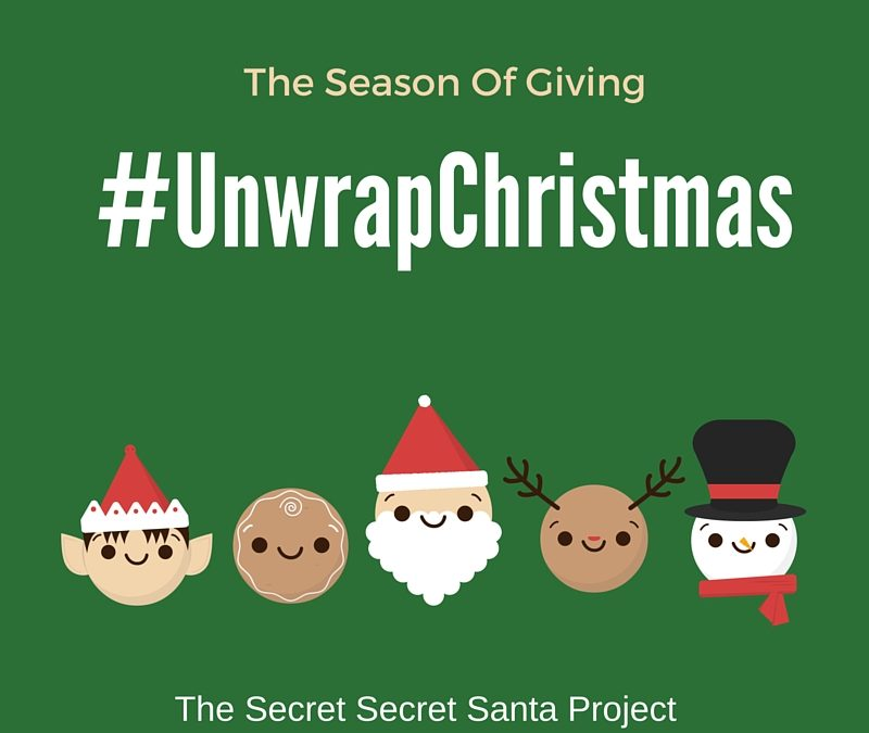 More Blessed To Give Than To Receive #UnwrapChristmas