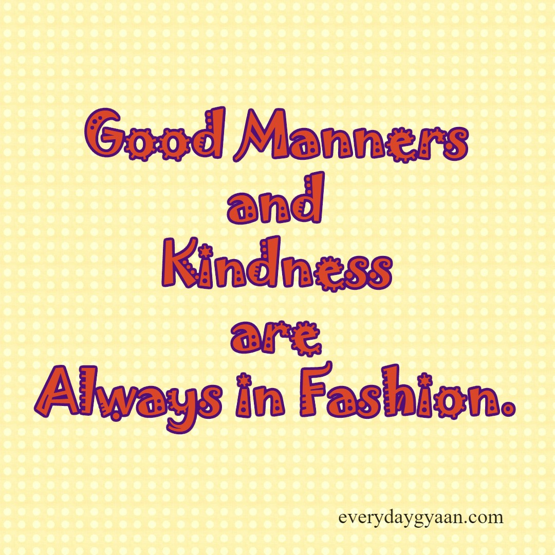 good manners and kindness mondaymusings pledgebekind everyday good manners and kindess
