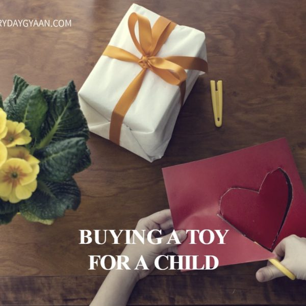 Buying A Toy For A Child