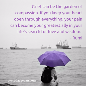 Should Grief Make You Self Absorbed #MondayMusings