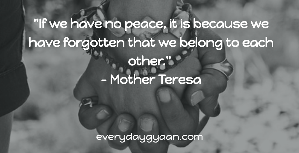 We Belong To Each Other #MondayMusings