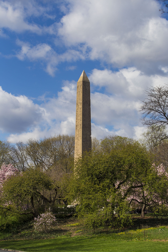 cleopatra's needle, central park