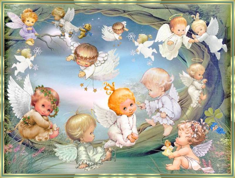 Surrounded by Angels