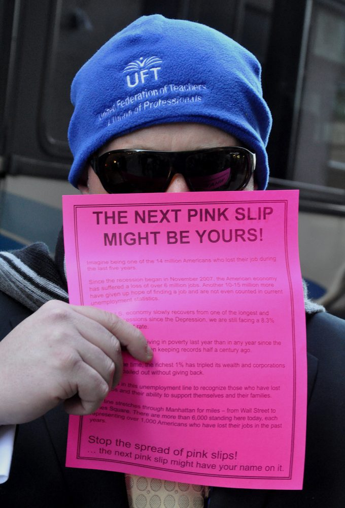 Giving A Friend The Pink Slip