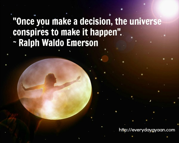 The Universe Conspired