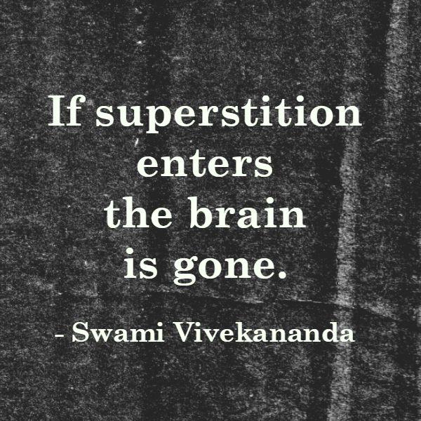 The Danger of Superstition #septemberchallenge