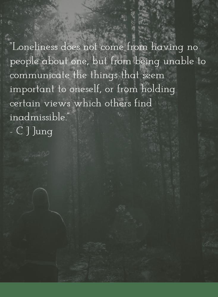 Bye Bye Loneliness Hello Aloneness