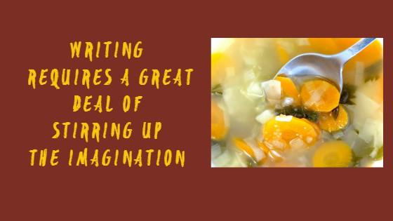 Stirring Up The Imagination #WODW