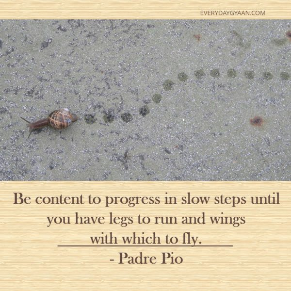Slow Steps #MondayMusings