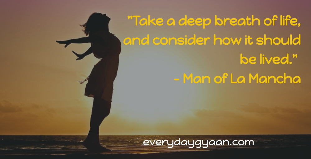 Taking A Deep Breath Of Life  #MondayMusings