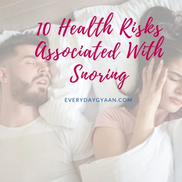 10 Health Risks Associated With Snoring