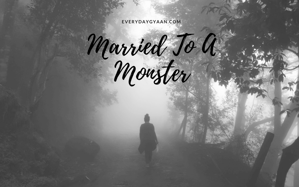 Protected: Married To A Monster? #writebravely #MondayMusings