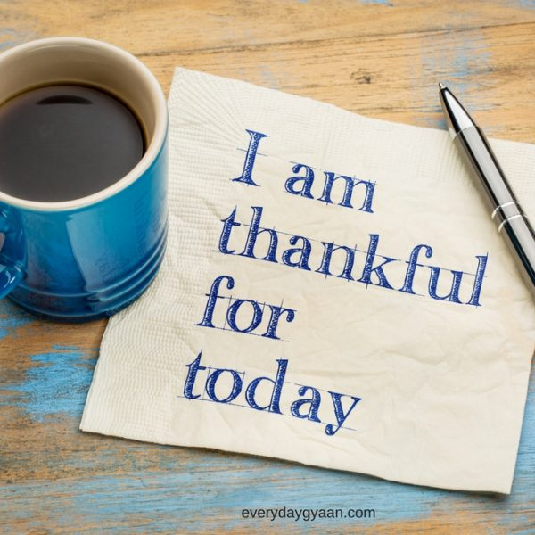 I Am Thankful For Today #everydaygratitude