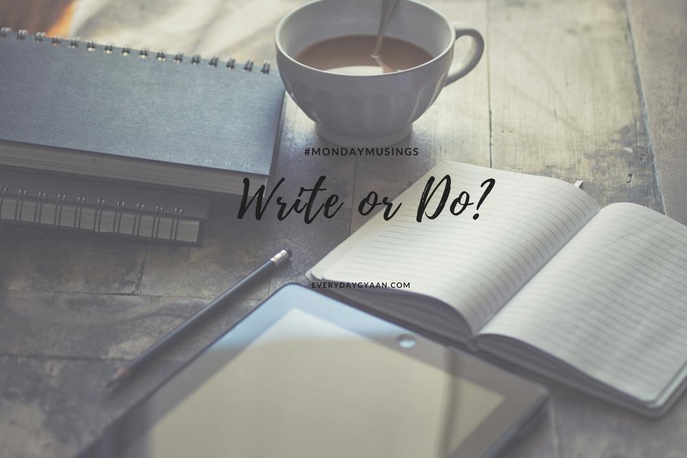 write or do