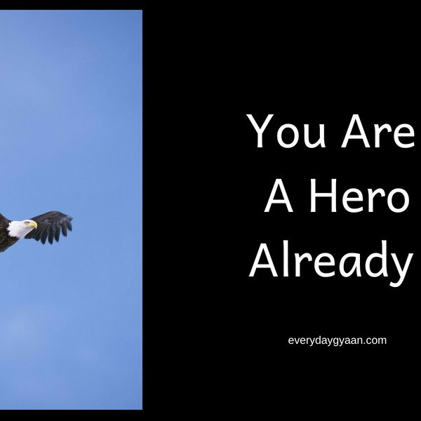 You Are A Hero Already #writebravely