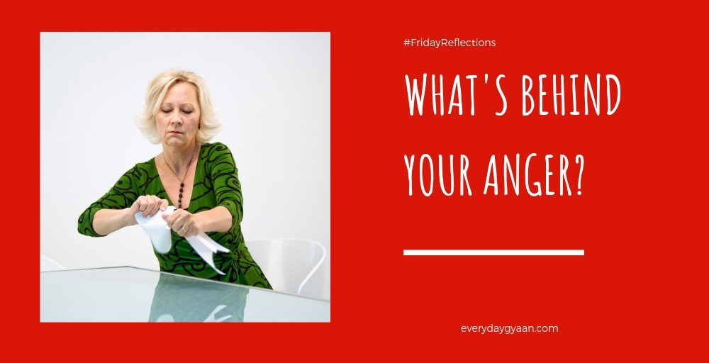 what's behind your anger